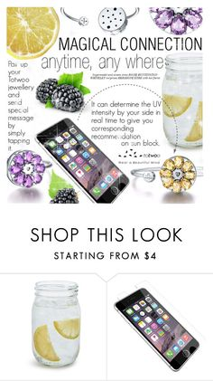 """MAGICAL CONNECTION"" by totwoo ❤ liked on Polyvore featuring Sur La Table, OtterBox and Whiteley"