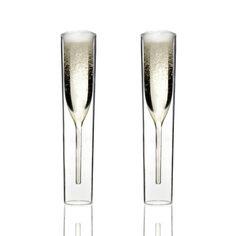 Champagne Glasses // Set of 2 By Alissia Melka-Teichroew