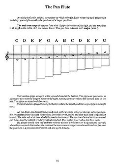 parts of a flute | the recorder is woodwind instrument and is part ...