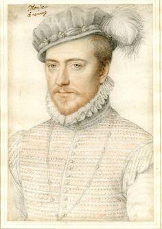 aleyma:  School of Francois Clouet, Jacques de Savoie, Duc de Nemours, 1560-68 (source).