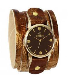 Relógio Feminino Erhos Bracelete em Tiras 175DR