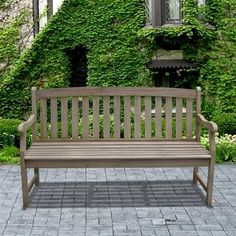 Find gorgeous Outdoor Benches at Wayfair for your backyard or patio. Enjoy free and fast shipping. Browse and shop our large selection of benches now! Garden Furniture, Outdoor Furniture, Antique Furniture, Painted Furniture, Rustic Furniture, Furniture Decor, Modern Furniture, Furniture Design, Hand Scraped Hardwood