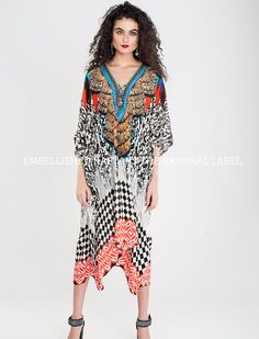 Feuilleter magazine maxi dress