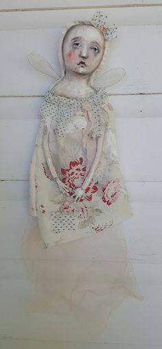 found in the garden...cloth/textile/fabric/sculpture...k d milstein/fadedwest.com