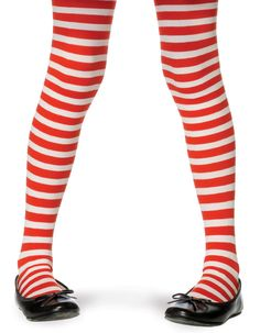 Show your stripes with our Red and White Striped Tights! Our Red and White Striped Tights feature a fun, smooth stretch design with alternating red and white stripes. Red and White Striped Tights are Nylon and fit most standard women's sizes and lbs). Kids Witch Costume, Doll Costume, Costume Shop, Girl Costumes, Halloween Costumes, Christmas Costumes, Happy Halloween, Halloween Decorations, Striped Stockings