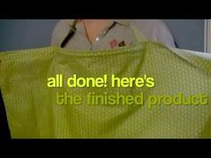 How to Make a Nursing Cover (How to Sew a Breastfeeding Cover - Sewing Tutorial) - YouTube