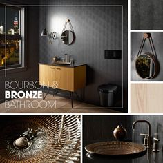 Bourbon U0026 Bronze Bathroom