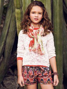 Mango Kids Spring 2014 Lookbook - mini:licious by wendy lam
