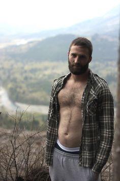 mountain man, I love flannel