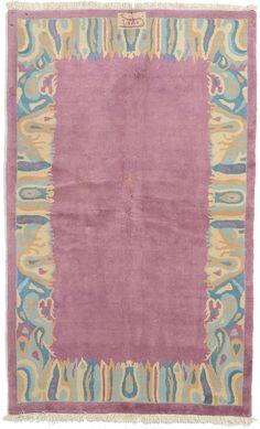 Purple 5 X 8 3 Nepal Rug Oriental Rugs