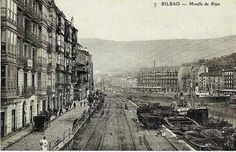 Bilbao, spring of Ripa. Bilbao, Paris Skyline, New York Skyline, Athletic Clubs, Basque Country, Old Pictures, Spain, France, River