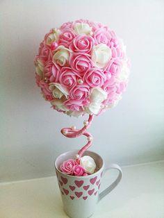 "Топиарий ""Розовый фламинго"""