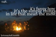 Reminds me of high school. Loved nights sitting around the fire.