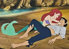 Which Disney Couple Is Your Ideal Relationship? We got Ariel and Eric ... Complete opposites ... Just like how we're Virgo and pisces ... Weird!