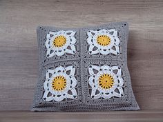 Check out this item in my Etsy shop https://www.etsy.com/listing/271584019/cute-crochet-pillow-fancy-granny-square