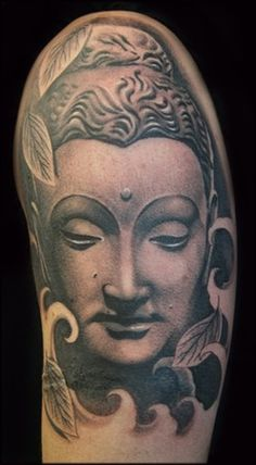 Jason Butcher - Buddah Tattoo - the delicate shading is breathtaking!