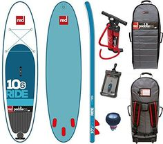 Red Paddle Co RIDE 106 x 32 2016 Series Includes Bundle Titan Pump  Backpack  Pumped Up SUP Pressure Gauge <3 Click the VISIT button to view the details