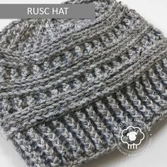 Rusc is a free hat pattern that is rich in texture, and super easy to crochet as it only contains front post and back post stitches. No frustrating slip stitches here. ; ) Instructions are included below to turn Rusc into a messy bun hat. RUSC HAT ADD THIS… Read more...