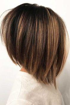Angled Straight Praise # Shoulder Length Bob # Bob Hairstyles # Hairstyles # Medium Hairstyles - new site Short Hairstyles For Thick Hair, Short Hair With Layers, Short Hair Cuts, Layered Hairstyles, Hairstyles 2016, Celebrity Hairstyles, Wedding Hairstyles, Natural Hairstyles, Hair Cuts For Moms