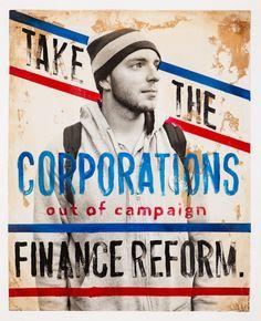 Human° - Occupy Wall Street by Arian Camilleri, via Behance