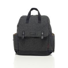 Babymel Robyn Convertible Backpack Tweed | JoJo Maman Bébé
