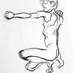 Drawing (the Bow) and Releasing (the Arrow) | DRAWING LIFE by fred hatt