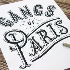 GANGS OF PARIS by Alexis Taieb