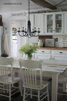 FARMHOUSE 5540: Farmhouse Kitchen On a Summers Day