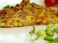 Sekaná z cukety recept - TopRecepty.cz Quiche, Pizza, Food And Drink, Treats, Cooking, Breakfast, Invite, Sweet Like Candy, Morning Coffee