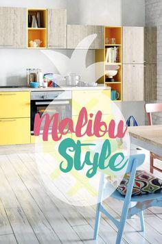 Luxury K chen im sommerlichen Malibu Style Einrichten wie ein Strandhaus in Malibu am Meer