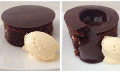 Magic Chocolate Lava Cake Dessert Recipe HOW TO COOK THAT chocolate fond...