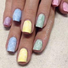 The Nailinator - Chic Pastels and Stamping The Chic, Pastels, My Nails, Stamping, Nail Art, Floral, Beauty, Collection, Stamping Up