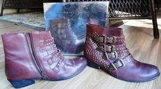 Urban Outfitters Ecote Burgundy Studded Buckled Kylie Ankle Boot Size 10M