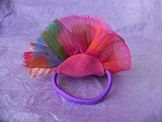 Fabric Flower Hairbands