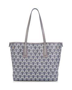Liberty London Marlborough Iphis-Print Tote Bag | Neiman Marcus Printed Tote Bags, Blue Bags, Calf Leather, Neiman Marcus, Calves, Louis Vuitton, London, Luxury, Liberty