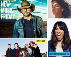 NEW MUSIC FRIDAY (Sept. 9, 2016): Jason Aldean ... M.I.A. … The Beatles ... Wilco ... Grouplove ... Bastille ... Nick Cave & The Bad Seeds ... Gavin DeGraw ... Okkervil River ... etc. ⇒ http://www.pauseandplay.com/new-releases-sept-9-2016  #NewMusicFriday