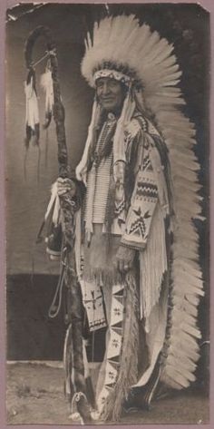 photo-Chief-Standing-Bear-Pine-Ridge-Ag-So-Dakota-Sioux-Indian-Native-American