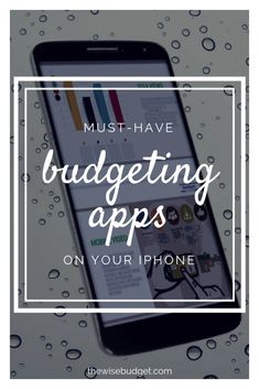 The Best Budgeting Apps On Your iPhone in 2018 The Wise Budget Budget Tracking, Budget App, Budget Binder, Best Budget, Life Insurance Companies, Best Insurance, Flood Insurance, Budgeting Worksheets, Budgeting Tips