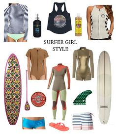 GOLDEN DREAMLAND: Crazy About: Surfer Girl Style