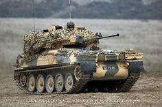 A British Scimitar Light Tank ( not really a tank) it's a Combat Vehicle (reconnaissance)