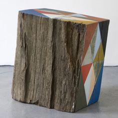 Painting blocks of wood #diy #crafts