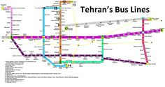 Tehran BRT Buses are in some ways more preferable than Tehran Metro and help you reach some neighborhoods where there is no metro station.