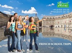 Enjoy your French school trips & educational tours to France with RocknRoll Adventures. We believe, in our school trips to France, you will learn loads of new things. French School, Travel Tours, France Travel, Rock N Roll, Trips, Knowledge, Culture, Adventure, How To Plan