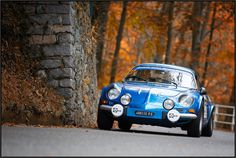 """1976 Renault Alpine A110 -  The iconic A110, also called """"Berlinette"""" was a French sports car produced in Dieppe. It had a RR layout, was very light and therefore great fun to drive.   Its competition incarnation took part in WRC races with great success and became a first WRC champion ever in 1973."""