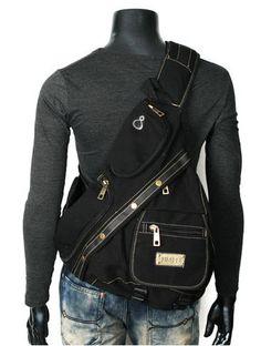 ModernManBags.com - Men s Rugged Military-style Single-shoulder Crossbody  Canvas Backpack - b234570e7bbda