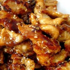 Summary: Serve the chicken over rice, you don't want any of that delicious, sticky sauce going to waste. And because we are all trying to be healthier this time of year make sure to serve lots of fresh stir fried vegetables on the side.
