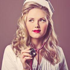 retro nurse