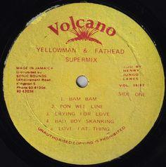 Yellowman & Fathead - Supermix (Label)