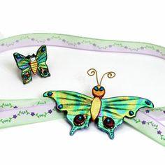 Friendly Plastic Butterflies