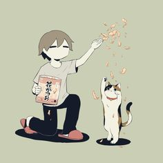 My parents think my cat is imaginary… depressed unstable imnotokay suicidal anime anxiety idcanymore idgaf fuckemotions heartbroken perfe… - Site Today Art Anime, Anime Kunst, Art And Illustration, Illustrations, Sun Projects, Art Mignon, Arte Obscura, Sad Art, Japanese Artists